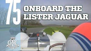 On board a thunderous Lister Jaguar battle