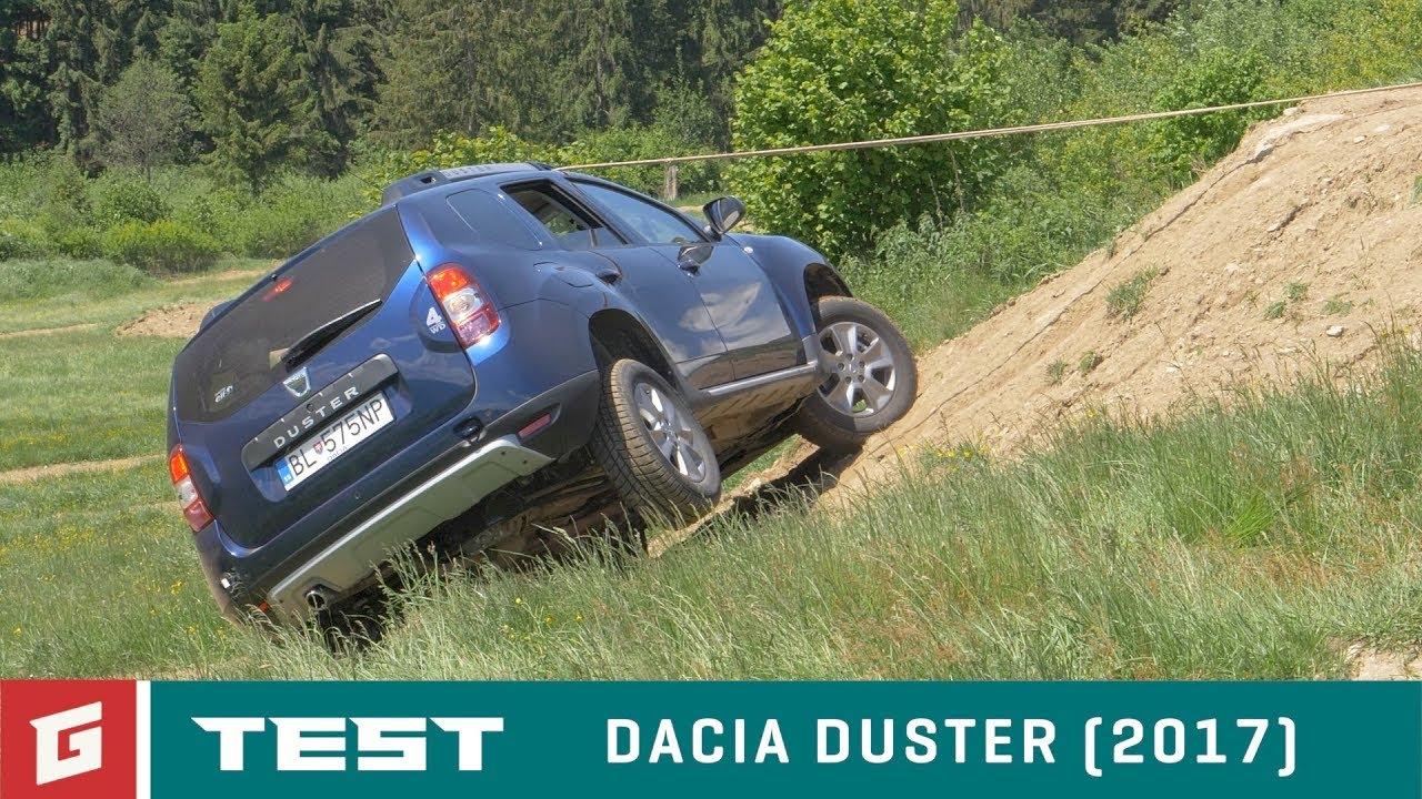 Dacia Duster SUV - kedy sa prevráti? - TEST - GARÁŽ.TV - Rasťo Chvála