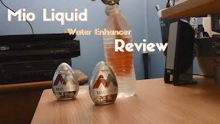 Mio Liquid Water Enhancer Review