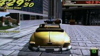 Oldschool game: Crazy taxi 2 - Dreamcast.