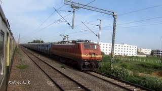 Amazing Train Race : Indian Railways.