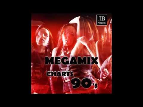 Medley Non Stop DJ Charts Dance 90 Megamix: The Key: The Secret / Living on My Own / D