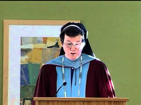 Rivier College celebrates the inauguration of Sister Paula Marie Buley, IHM
