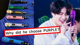 Secrets in BTS' MIC Colors? Let's Read Their Mind through Colors!