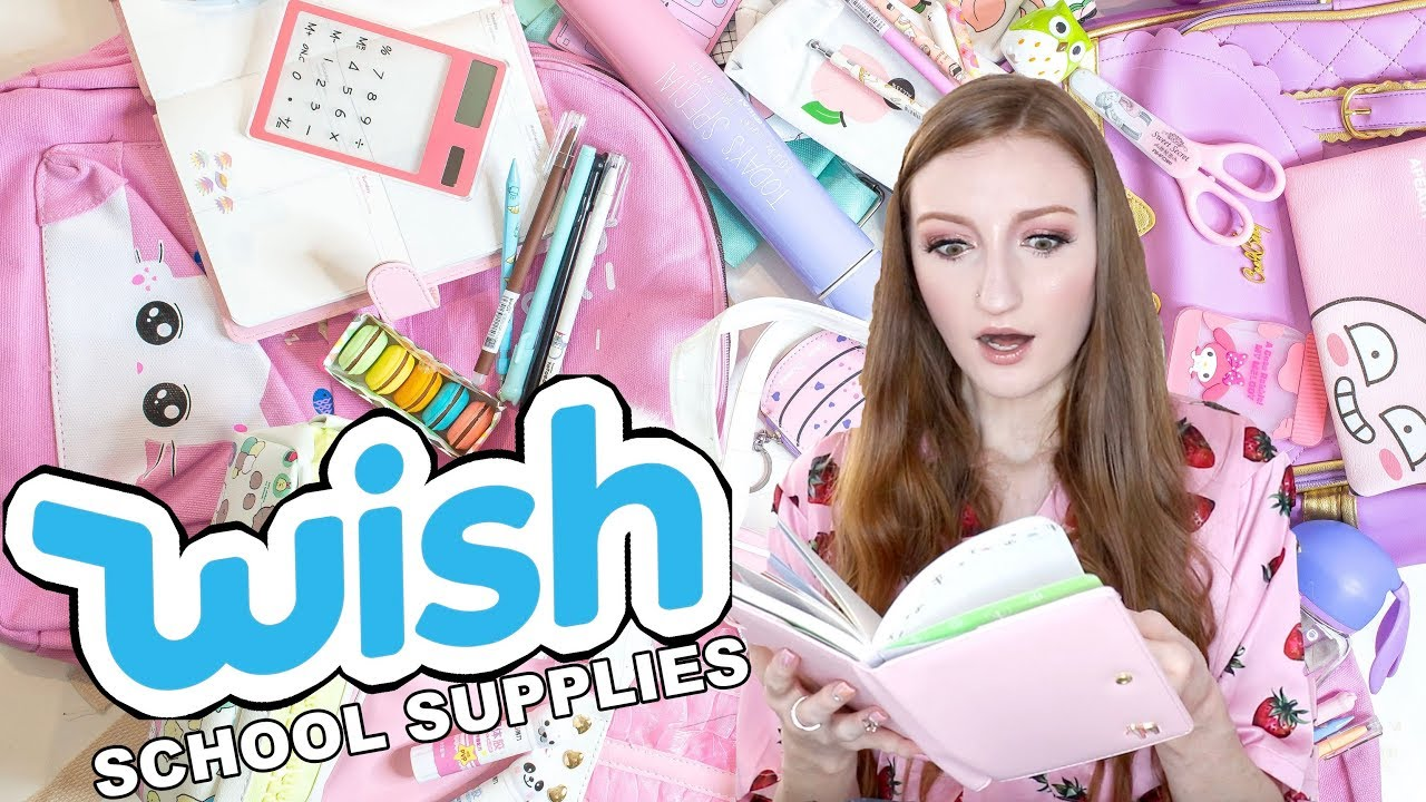 I SPENT $700 AT WISH!! HUGE BACK TO SCHOOL SUPPLIES HAUL