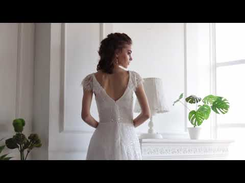 Wedding Dress. The newest collection of 2020. Ether WDl-123