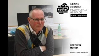 Stephen Munby (Audio Interview)
