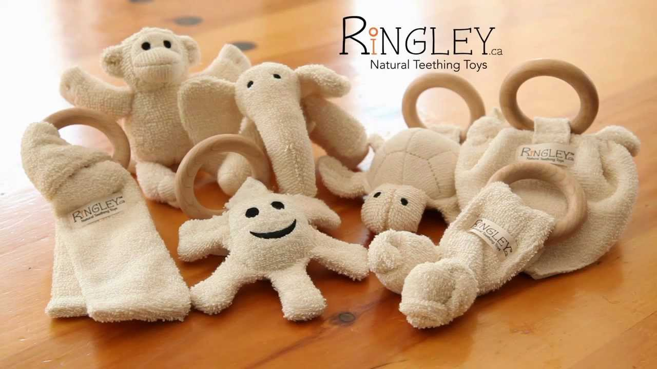 RiNGLEY  Natural Teething Toys  - YouTube fa9d4f4b9035