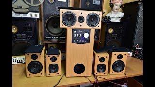 Genius SW HF 5000 Home Theatre #home #cinema active #subwoofer satellite speakers