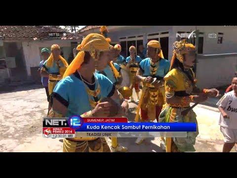 NET12 - Tradisi unik arak kuda kencak jelang pernikahan di Sumenep