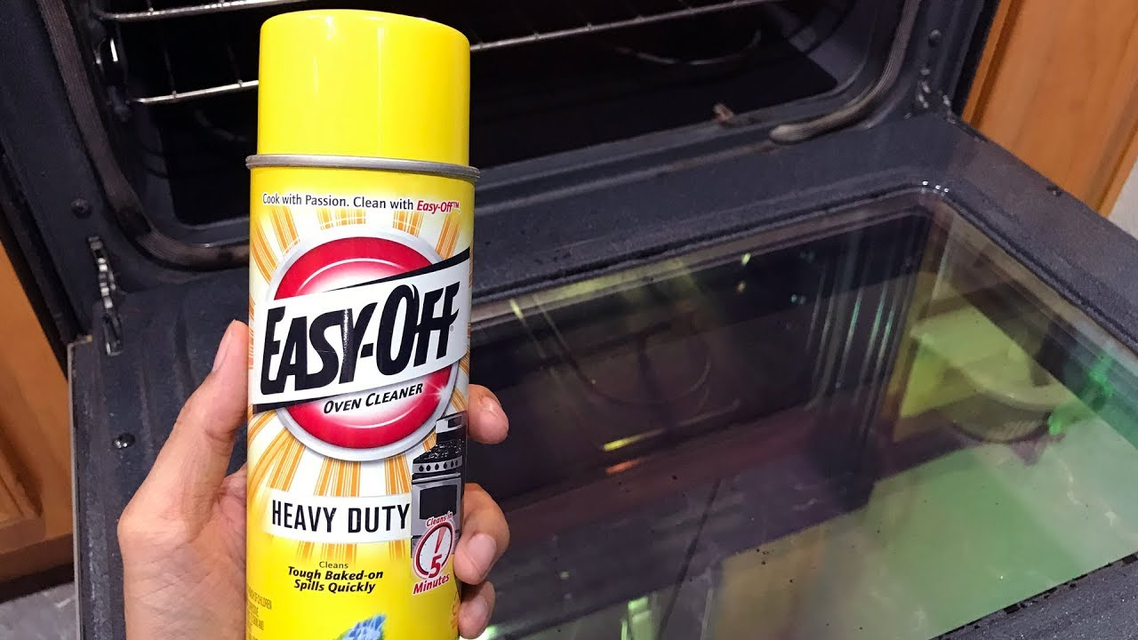 Easy Off Heavy Duty Oven Cleaner Review