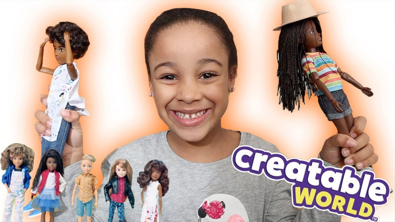 My Doll Transformed 5 Times | FamousTubeKIDS