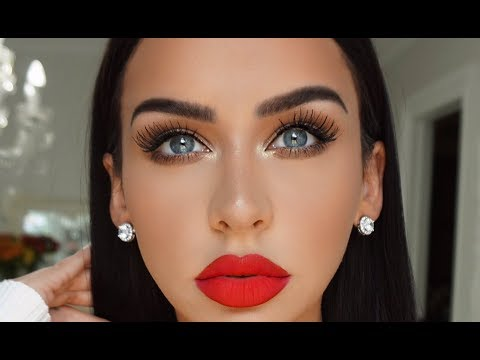 GET READY WITH ME: CLASSIC GLAM +KKW REVIEW