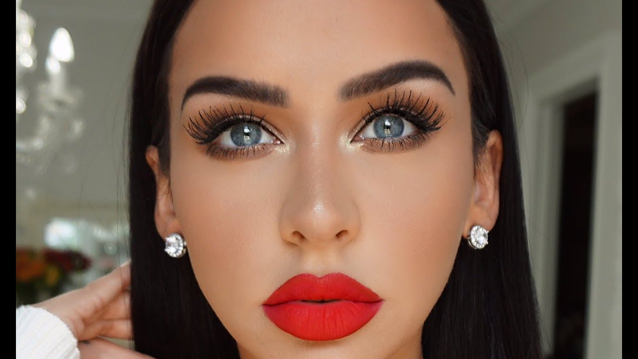 GET READY WITH ME: CLASSIC GLAM +KKW REVIEW  #Trend