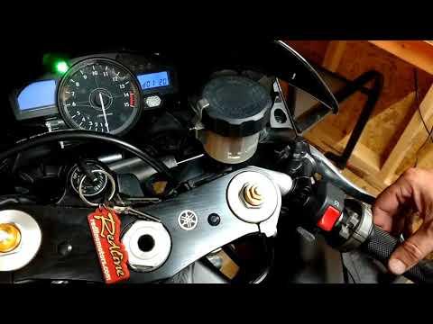 Yamaha R1 2007 Throttle Sticking