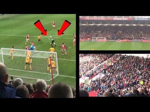 'AWAY END LIMBS! PROPER FA CUP TIE!' Bristol City Vs Wolverhampton Wanderers Vlog #67