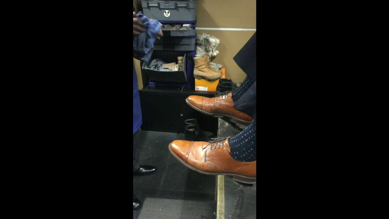 f55e2f664203 Mike Wilson Works Miracles on a Pair of Damaged Shoes - YouTube