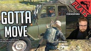 GOTTA MOVE - PlayerUnknown's Battlegrounds Duos Gameplay #23 (PUBG DUOS) StoneMountain64 & Kross