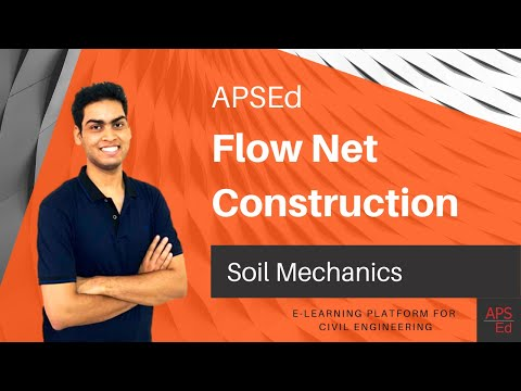 Construction of Flow Net | Soil Mechanics
