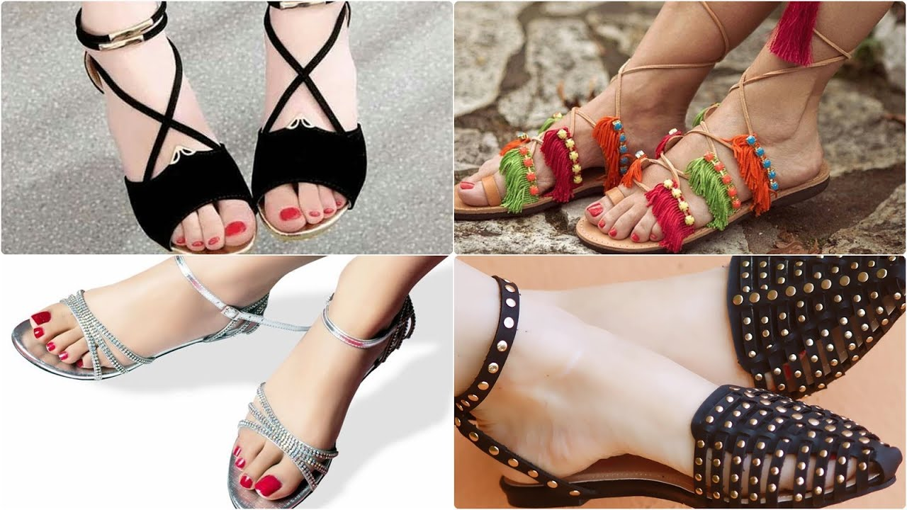 510e80cd7 Best flat sandals for girls  latest footwear collection. FASHION ALERT