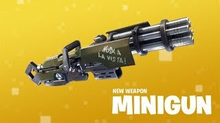 Fortnite-Nouveau Mini Gun!!!!!!!!!!! $ROAD À 400 SUBS$ #LSS LETS GET IT