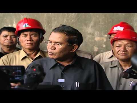 Hun Sen Prime Minister of CAMBODIA visited