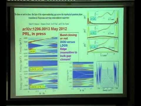 Advances in Graphene, Majorana Fermions, Quantum Computation ( 2 ) - Sankar Das Sarma