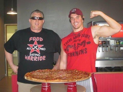 $200 BIG TEN POUND Pizza Challenge in INDIANA!!