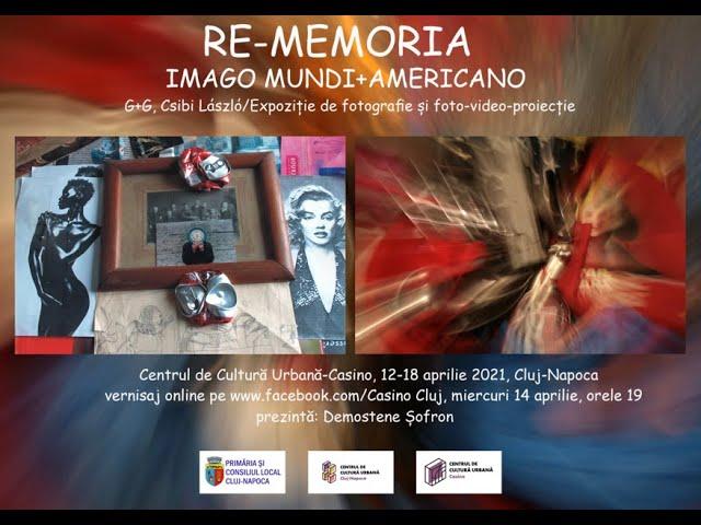 RE-MEMORIA: Imago Mundi+Americano (vernisaj online)