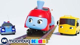 Buster And The Sleepy Train + More Nursery Rhymes & Kids Songs – Little Baby Bum | Moonbug Kids