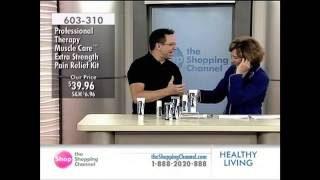 """Dr. Chris Oswald- MuscleCare """"Shopping Channel"""" highlights with Dr. Chris Oswald"""