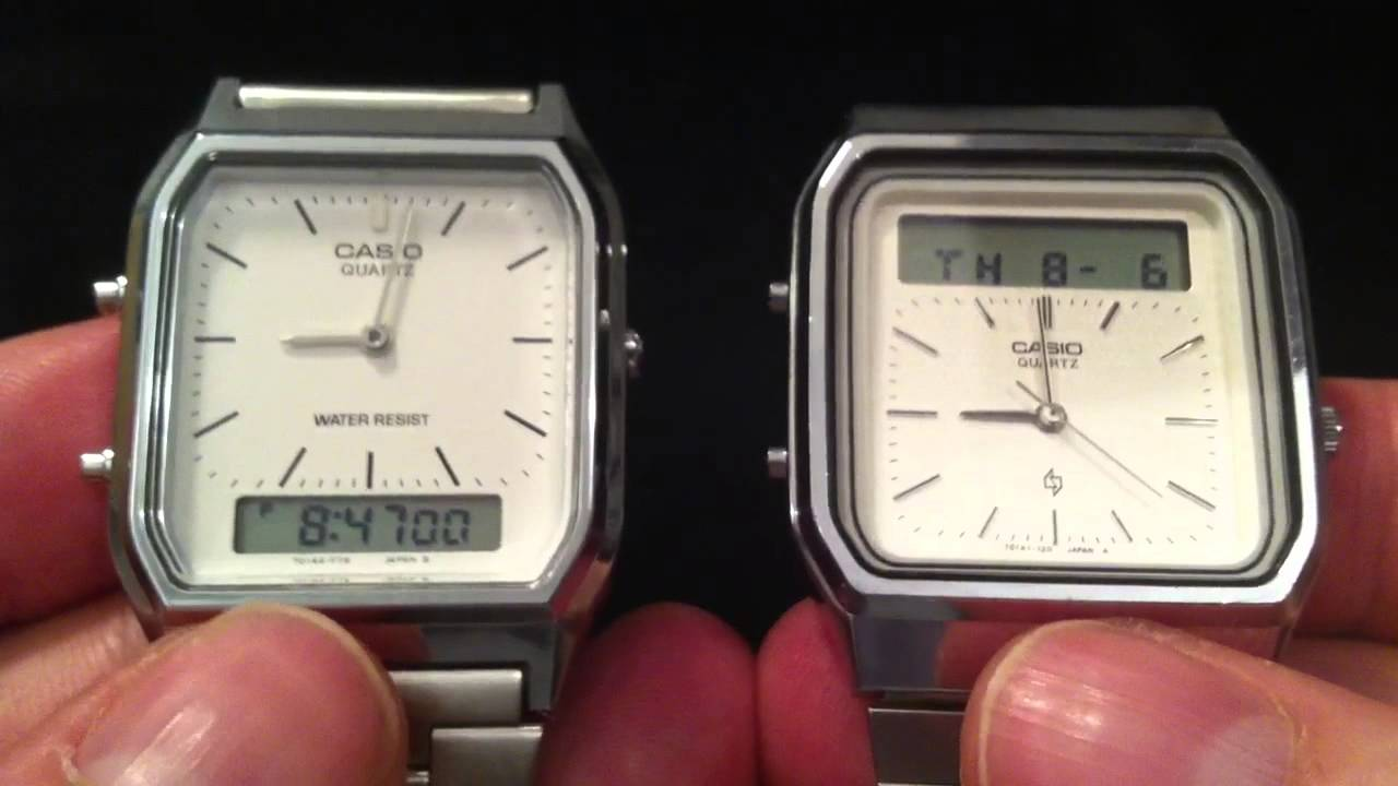 26ecf34e942 Casio AQ-230 - YouTube