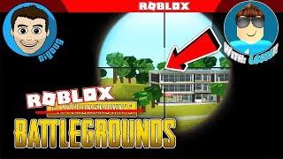 1v1 PUBG auf Roblox Prison Royale mit Blue Locus! Roblox Player Unbekannte Schlachtfelder!
