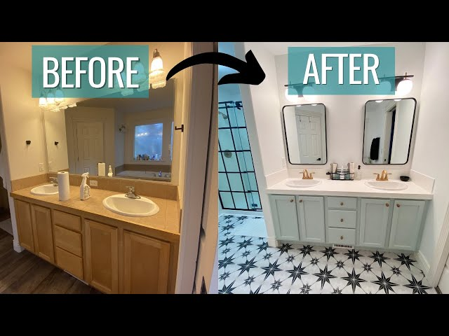 taking a break from building vans to remodel our house 🔨 | BUDGET BATHROOM REMODEL