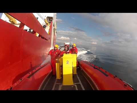 Pacing an Icebreaker - CCGS Sir Wilfrid Laurier