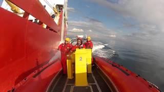Pacing an Icebreaker - CCGS Sir Wilfrid Laurier