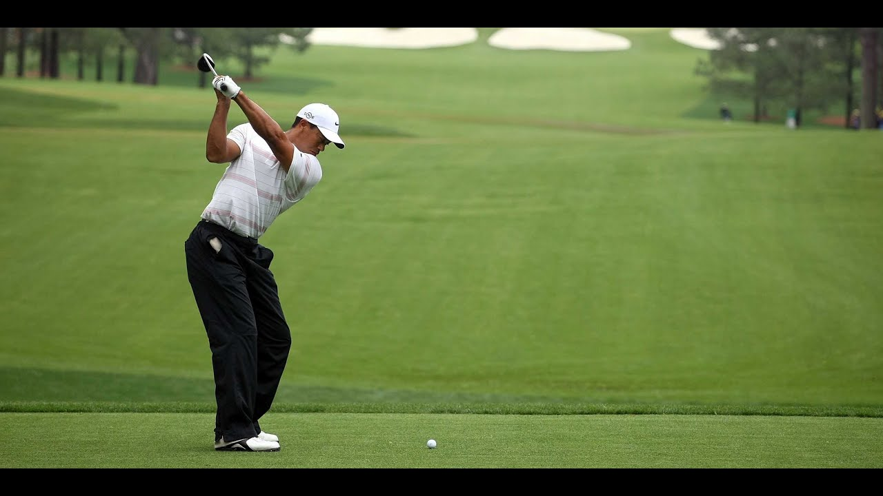 2009 Pga Championship Practice Round Tiger Woods Youtube