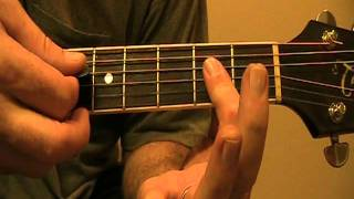 Rodney Atkins Take A Back Road Cover  and Lesson By Bobby Allen Bifano
