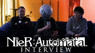 NieR Automata: Interview - Character Designs, Censorship & Metal Gear Rising 2 - Hooked