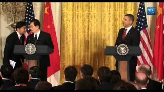 Obama Forced to Listen to Long Mandarin Translation of His Own Answer