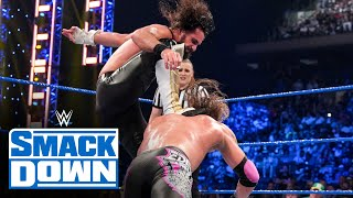 Seth Rollins' Stomp leaves Edge seriously injured: SmackDown, Sept. 10, 2021
