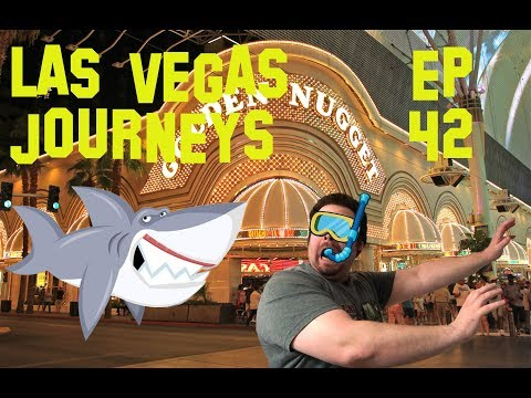 "Las Vegas Journeys- Episode 42 ""SLOTS, SHARKS AND FREMONT STREET"""