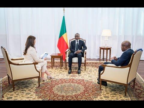 """Emission """"Internationales"""" avec  le Président Patrice Talon"""