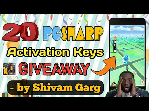 #5 Giveaway Of 20 PGSharp Activation Keys | How To Get ...