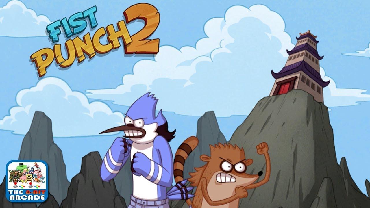 Cartoon network regular show games fist punch
