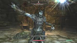 Draugr Death Overlord super scary ghost guy - Skyrim