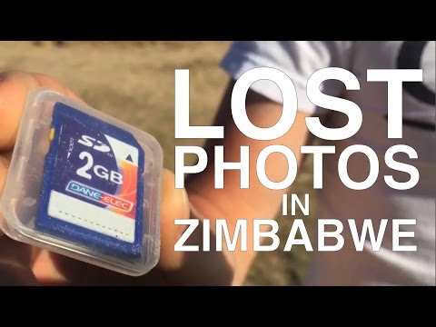 FOUND: Lost Photos in Zimbabwe