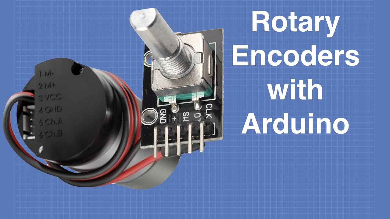 Using Rotary Encoders with Arduino