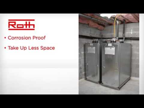 Roth Double Wall Home Heating Oil Storage Tanks Youtube