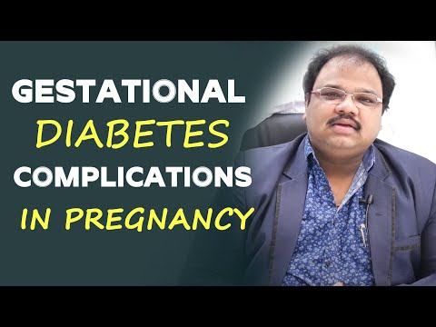 Gestational Diabetes Complications in Pregnancy | Dr. Prabhu Kumar Challagali - Diabetologist